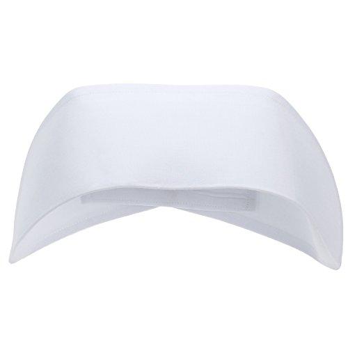 Tinksky Frauen Krankenschwester Hut Krankenschwester Kostüm Cap Zubehör Dekoration (weiß)