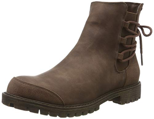 Roxy Damen Kearney - Faux Leather Boots for Women Schlupfstiefel, Braun (Chocolate CHL), 39 EU