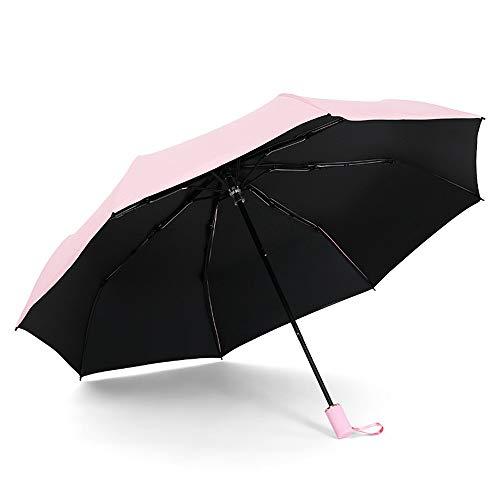 Regenschirm Faltbarer Regenschirm Leichtgewichtig Langlebig Acht Knochen Wasserabweisend Tragbar Bequemer Faltschirm Sowohl sonniger als auch sonniger UV-Schnitt Origami-Regenschirm Regenschirm JFCUIC