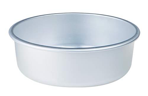 Pentole Agnelli, FAMA43/824, Tortiera Conica con Orlo, Alluminio, 24 X 24 X 8 cm