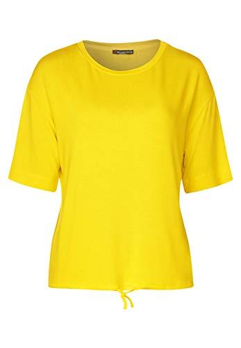 Street One Damen Sanita T-Shirt, Shiny Yellow, 38