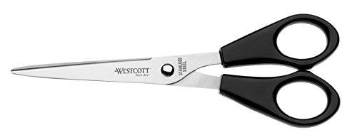 Westcott E-31160 00 Schere Büro, rostfrei, 15 cm/6 Zoll, schwarz - und weitere Ausführungen