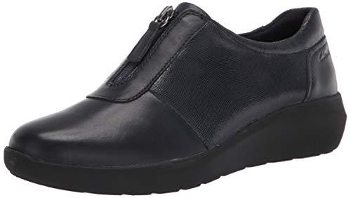 Clarks Kayleigh Sail, Zapatillas para Mujer, Navy Interest SDE Combi, 44 EU