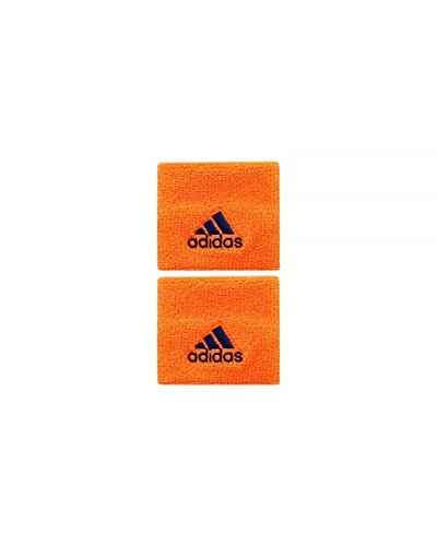 All for Padel Wristband S x2 Muñequeras, Adultos Unisex, Orange