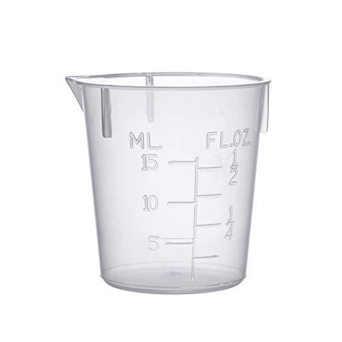 Consolidated Plastics 45370 Disposable Beaker, Polypropylene, 15 mL, 100 Piece