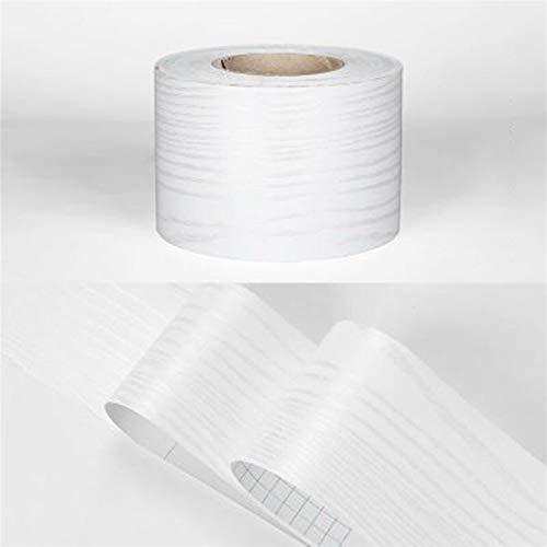 kengbi Fácil de decorar popular duradero fondos de pantalla DIY cintura línea papel pintado cocina baño sala de estar zócalo decoración autoadhesiva mármol color sólido pegatinas impermeable