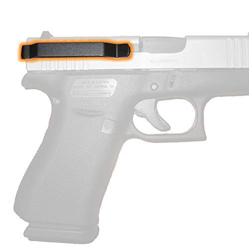 Clipdraw Ambidextrous Concealed Gun Belt Clip for Glock 43 Black