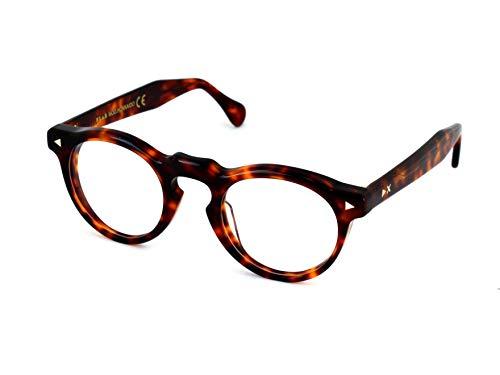 X-LAB Montura de gafas mod. Hokkaido, lentes fotocromáticas, gafas unisex. (Tortuga oscura, Gris)