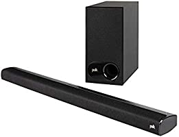 Polk Audio Signa S2 Ultra-Slim TV Sound Bar | Works with 4K & HD TVs | Wireless Subwoofer | Includes HDMI & Optical...
