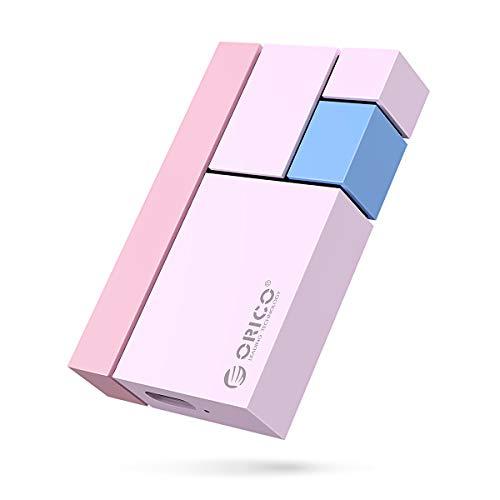 hard disk esterno rosa ORICO SSD 250GB Esterno Portatile fino a 540MB/s Ultra-mini Hard Disk SSD portatile Tipo-C USB3.1 GEN2 per Vlog Blogger