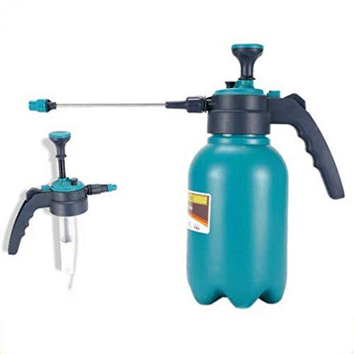 LGYKUMEG 2L Flasche Einstellbar Gasdruck Auf Den Luftdruck Flasche Pumpe Kessel Spray Bewässerung Gartenwerkzeug Transparent,Blau