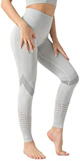 Yoga Pants Leggings Women Tight High Waist High Elastic Opaque Hollow Breathable Non-Fading Anti-Pilling Anti-Tearing Mois...