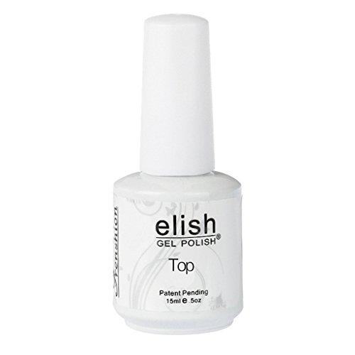 Frenshion 15ML Smalto Semipermanente Gel Nail Polish UV LED Ricostruzione Unghie Arte Manicure TOP Coat