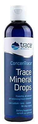 Trace Minerals ConcenTrace Trace Mineral Drops, 237ml