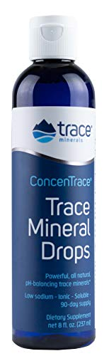 Trace Minerals Research - Concentrace Trace Mineral Drops - 8 Fl Oz (Pack...