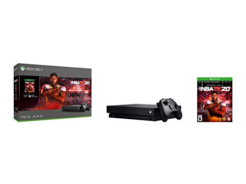 Xbox One X 1TB Console - NBA 2K20 Bundle [DISCONTINUED]