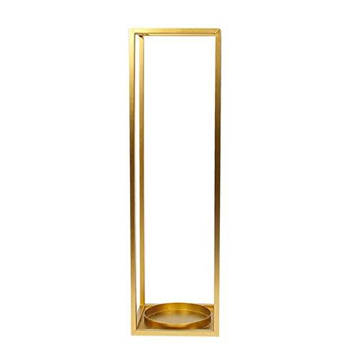 Wing Portaombrelli Rettangolare Porta ombrelli Ingresso in Metallo, Design Moderno per corridoio/Esterno/Interno, per ombrelli Lunghi/Corti e bastoni da Passeggio,d'oro,20×20×69cm(L×W×H)