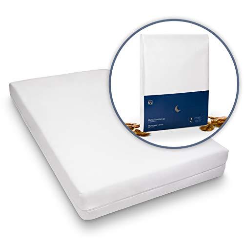 Blumtal Matratzenbezug für Allergiker, Milbenbezug - Matratzenschutz Encasing, atmungsaktiv, 140x200 cm, 1er Set