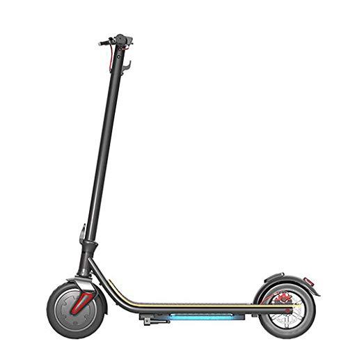 Folding Leichte Elektro-Scooter for Erwachsene und Jugendliche 8.5' Räder Disc-Bremsanlage mit Hinterrädern 28.9...