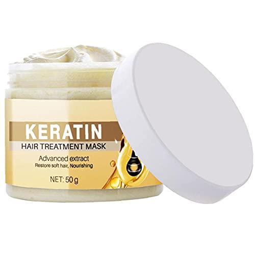FirstSun Acondicionador Profundo acondicionado Tratamiento Reparador 50ml para cabello seco, el crecimiento del cabello y el cuidado del cabello