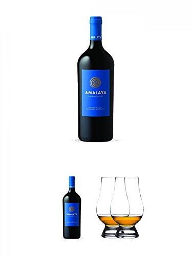 Amalaya Tinto (blaues Label) Wein Argentinien 1,5 Liter Magnumflasche + Amalaya Tinto (blaues Label) Wein Argentinien 1,5 Liter Magnumflasche + The Glencairn Glass Whisky Glas Stölzle 2 Stück