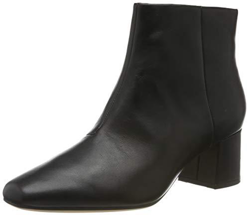 Clarks Damen Sheer Flora Chelsea Boots, Schwarz (Black Leather Black Leather), 41 EU