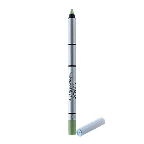 Impala - Lápiz de ojos waterproof cremoso Color Verde Claro