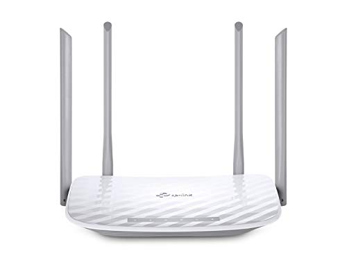 TP-Link Archer C50 AC1200 Dual Band Wireless Cable Router, Wi-Fi Speed Up to 867 Mbps/5 GHz + 300 Mbps/2.4 GHz, Supports Parental Control, Guest Wi-Fi, VPN