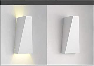 Applique salle de bain led cora verre rainuré luminaire