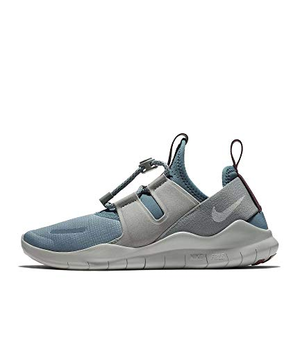Nike Women's Free RN Commuter 2018 Running Shoes (10 M US, Celestial Teal/Light Silver)
