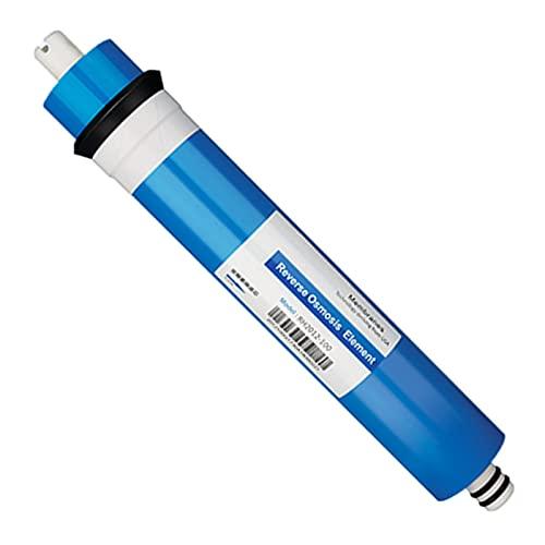 Filtro de Repuesto Universal para purificador de Agua de Membrana de ósmosis inversa Seca 1812-75 GPD (tasa de desalinización del 97%)