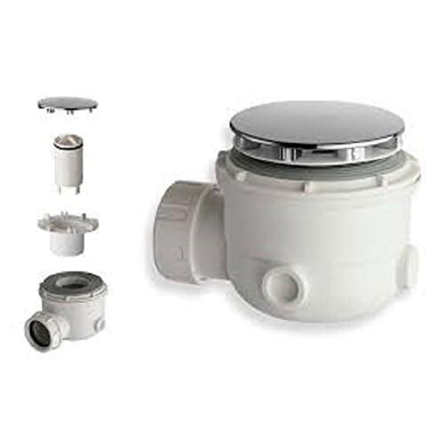 Piletta doccia sifone x piatto doccia foro 50-55 mm Tappo 86 mm SILFRA AD200