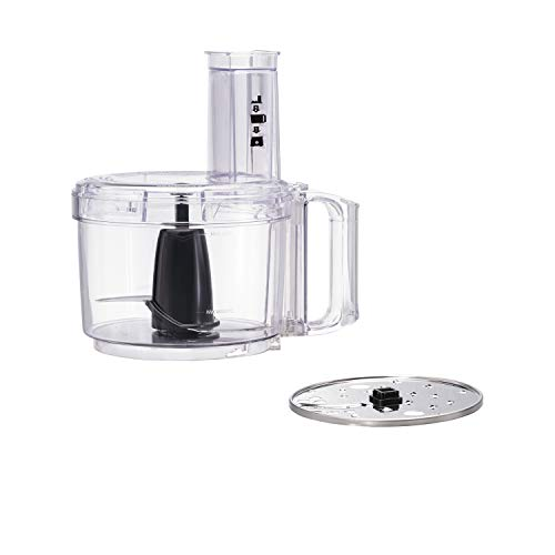 Hamilton Beach Food Processor, Slicer and Vegetable Chopper with Compact Storage, 8 Cups (70740), Black