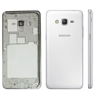 Backer The Brand Full Body Housing Replacement Panel for Samsung Galaxy Grand Prime-G530/ G531 (White)