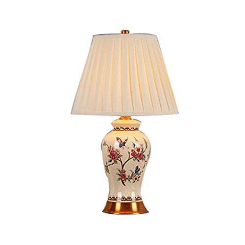 Lfixhssf eenvoudige Amerikaans Europees copper slaapkamer warm bedlampje nieuw Chinees handgeschilderd keramiek tafellamp Lfixhssf