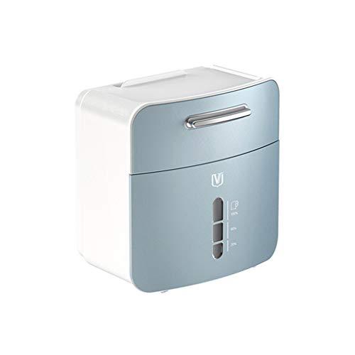 TPTPMAY YaLuoUK - Dispensador de papel multifuncional impermeable para colgar en la pared, para baño, servilletas, estante