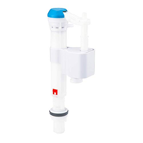 ZONE INDUSTRY CORP. Toilet Adjustable Fill Valve, High Performance Repair Kit, Replacement Toilet Parts For Use with Standard 15/16
