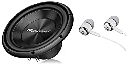 top 10 pioneer 12 inch Pioneer TS-A300D4 12 inch, maximum power 1500 W, 4 ohm dual voice coil, A series car audio …