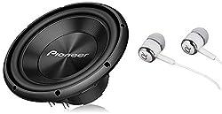 top 10 pioneer 12 inch Pioneer TS-A300D4 12 inch, maximum power 1500 W, 4 ohm dual voice coil, A series car audio …