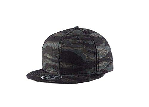 Blancho Cap Baseball Individualité Fashion Hip-Hop Hat (réglable, Couleur Camouflage)