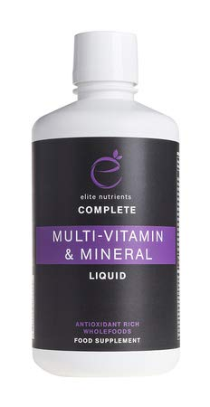 Elite Nutrients Multi Vitamin & Mineral Liquid - 30 Servings