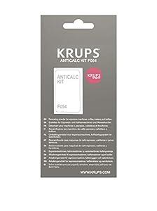 Krups Kit descalcificadores F054001B - Sobres descalcificación para cafeteras (pack de 2 unidades)