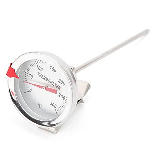 Termometro da cucina, termometro per friggere Termometro per frittura con quadrante resistente alle alte temperature per griglia per barbecue di tacchino di caramelle per friggere(15 cm)