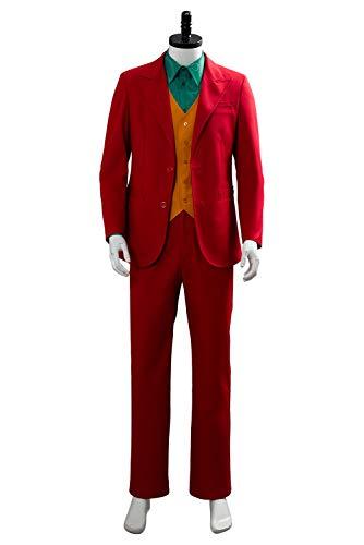 Arthur - Traje de Halloween para hombre, diseño retro, color rojo, talla M