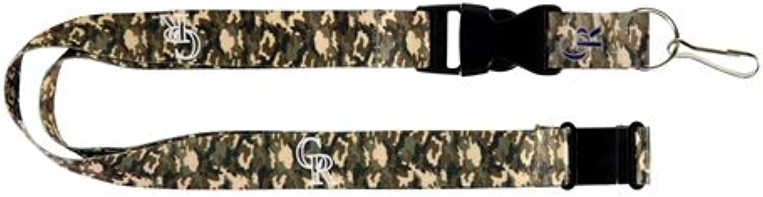Aminco colorado Camo Lanyard Keychain Badge Holder