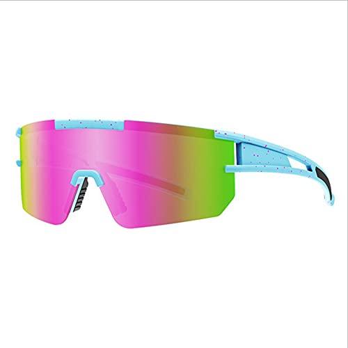 Gafas Deportivas Gafas De Sol Deportivas,Polarizado Gafas De Sol Para Hombres Mujeres,Moda Gafas De Seguridad Para Béisbol Pesca Ciclismo Corriendo Golf Motocicleta-C1 13x12.5x5cm(5x5x2inch)