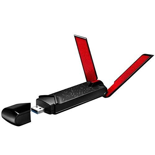 OFAY USB-AC68 Dual-Band AC1900 Draadloze Netwerkkaart Wifi Adapter USB3.0 Externe Antenne Ontvanger Airadar, MIMO 3T4R