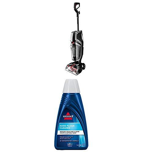 Bissell 2571N HydroWave Teppichreinigungsgerät, Plastic, 2.3 liters + Hard Floor Cleaner Reinigungsmittel für alle Hartboden-Reinigungsgeräte, 1 x 1 Liter