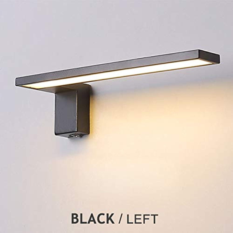 LED wandleuchte Nordic Indoor wandleuchten Kreative nachttischlampe schlafzimmer 12 Watt wandleuchte wohnzimmer einfache moderne gang acryl licht, WF-8008-BL