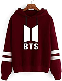 BTS Women Hoodies Sweatshirts Hoodies outwear Hip-Hop Bangtan boys jimin Clothes mm